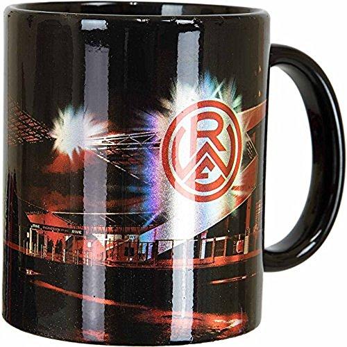 Unbekannt Rot-Weiss Essen Tasse, Kaffeetasse, Kaffeebecher Metallic