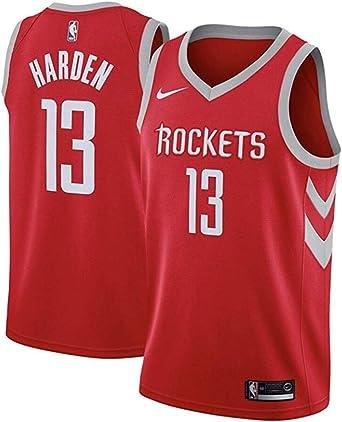 NIKE HOU M Nk Swgmn JSY Road Camiseta 2ª Equipación Houston Rockets 17-18 de Baloncesto Hombre: Amazon.es: Ropa y accesorios