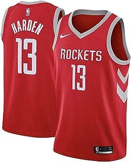 Nike Men's Houston Rockets James Harden Red Dri Fit Swingman Jersey