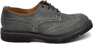 TRICKER'S Luxury Fashion Mens MCBI38173 Grey Lace-Up Shoes | Season Outlet