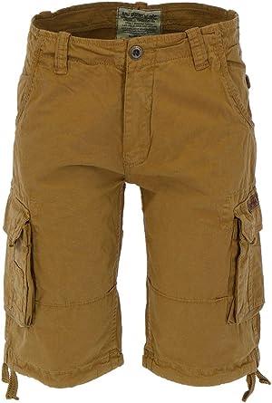 Alpha Industries Jet Khaki Men's Shorts