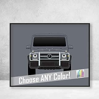 Mercedes-Benz G-Class Poster Print Wall Art G-Wagen AMG G500 G63 G350
