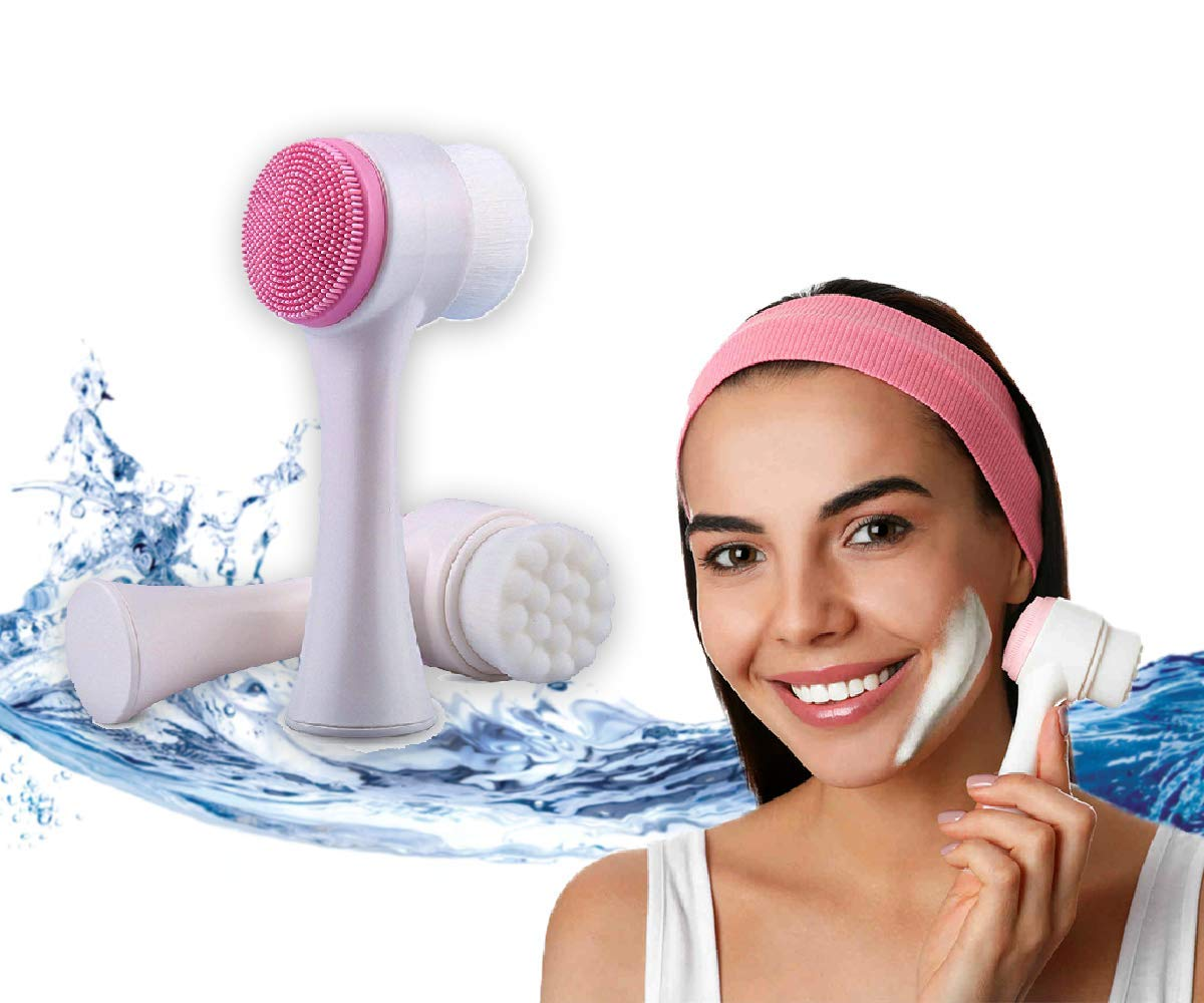 Deep Cleansing Facial - Hard Soft Brush and Sale Max 61% OFF