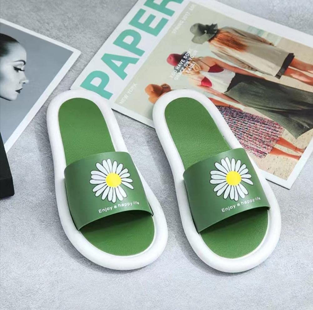 liangchenjingpin Cheap super special price Shower Slippers Ladies Super Special SALE held Non-Slip Flat Summer Cut