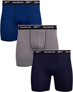 Reebok Men's Sport Soft Performance Boxer Briefs (3 Pack)