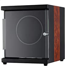 CHIYODA Automatic Single Watch Winder with Quiet Motor - 12 Rotation Mode Setting