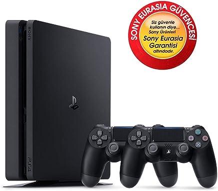 SONY PS4 SLİM 1TB EURASİA KONSOL + 2. PS4 KOL (CUH-2116B)
