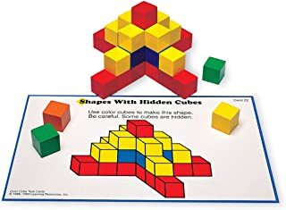 Learning Resources Creative Color Cubes, Fine Motor Skills, Counting Skills, Basic Math, 100 Piece, Ages 3+
