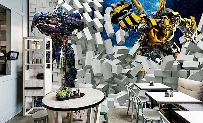 Bumblebee And Optimus Wallpaper 3d Image Num 75