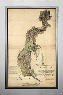 Throggs Neck (Called Frog's Neck on map), Bronx, New York|1776 Map - American Revolution Era | A Survey of Frog's Neck and The Route of The British Army|14