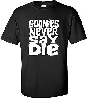 Goonies Never Say Die 80s Movie Black T-Shirt