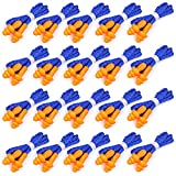 50 Pairs Ear Plugs for Sleeping, Hearing Protection Reusable Silicone Ear Plugs Noise Reduction, Individually Wrapped Earplugs for Shooting, Concerts, Swimming