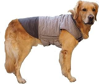 BONAWEN Dog Jacket for Winter Windproof Waterproof Reversible Dog Coat for Cold Weather
