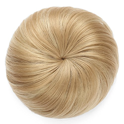 Onedor Synthetic Hair Bun Ponytail Extension Donut Chignon Hairpiece