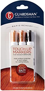 Guardsman Wood Touch-Up Markers - 3 Colors - Touch-Up and Repair Scratches