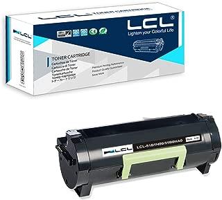 LCL Compatible Toner Cartridge Replacement for Lexmark 51B1H00 51B0HA0 MS417DN MS517DN MS617DN MX417DN MX517DE MX617DE MX417de (1-Pack Black)