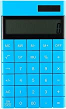 $29 » Desk Calculator with 12-Digit LCD Display Solar Dual Power Calculator, Fashionable Portable, Suitable for Office School (C...