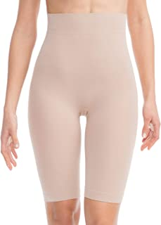FarmaCell BodyShaper 603B - Firm control body shaping shorts with girdle - light and refreshing NILIT BREEZE fibre