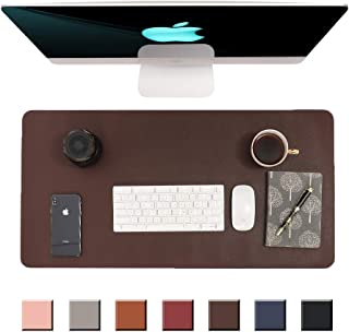 マウスパッド、テーブルマット、事務机、ラップトップマット、マウス -パッド、オフィスおよび家庭用防水デスクマット、マウスパッド、80 cm x 40 cm (ダークブラウン)