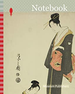 Notebook: Ohana and Ofuku, from the series A Selection of Entertainers from the Pleasure Quarters (Seiro geisha sen), c. 1...