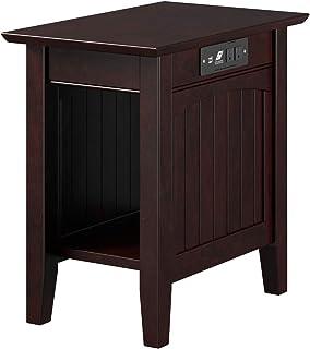 Atlantic Furniture AH13311 Nantucket Chair Side Table,...