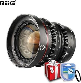 Meike T2.2 - Lente de enfoque manual para Olympus Panasonic MFT M4/3 Mount G9 GX7 GX8 GH3 GH5 BMPCC 4K Z CAM E2 (12 mm)