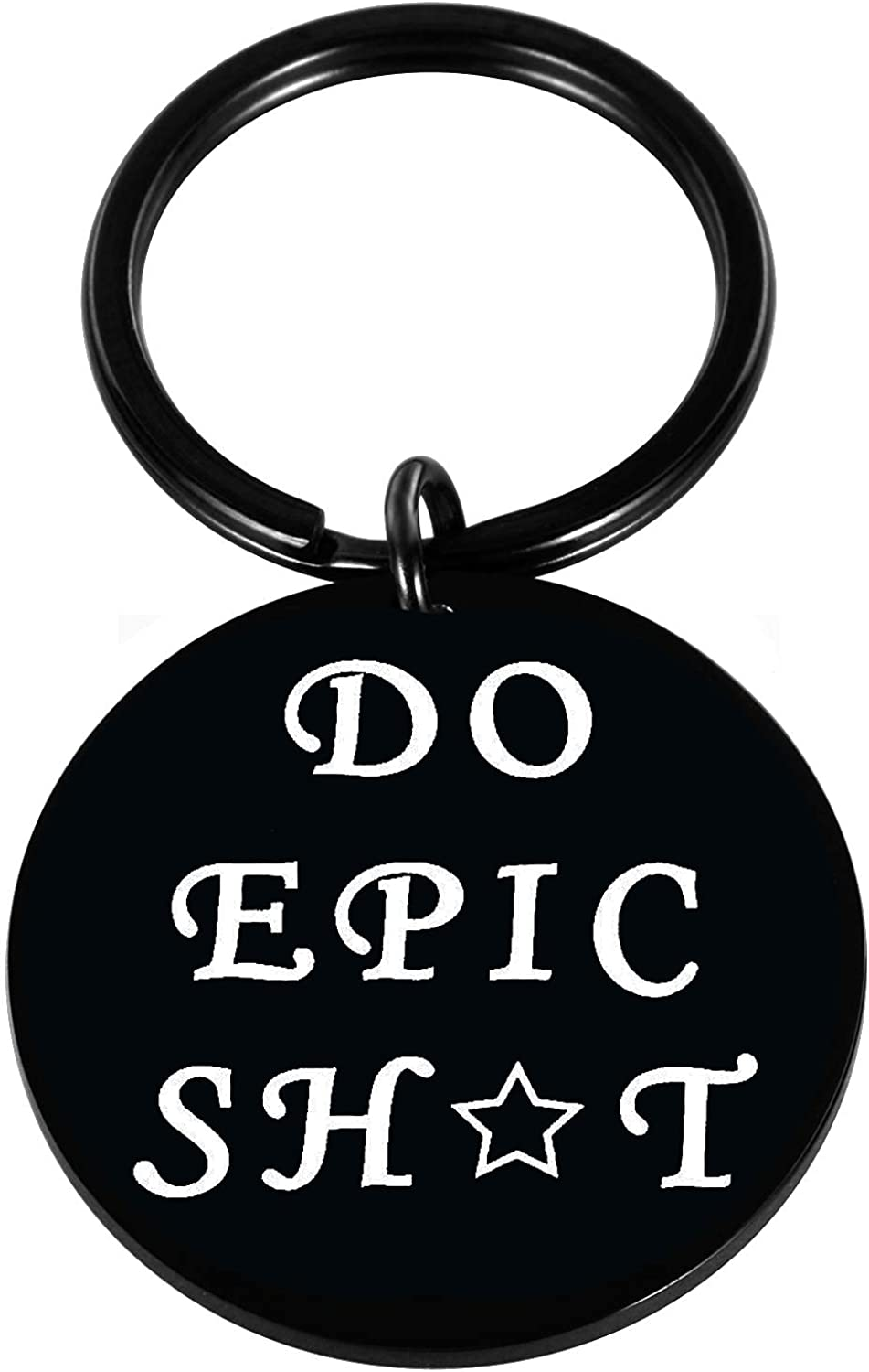 Queyuen Do Epic Keychain Inspirational Motivational Gift, Friends BFF Sisters Encouragement Gift