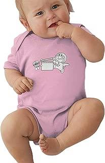 Newborn Clothes Doraemon Baby Romper Bodysuit Cotton Short-Sleeve