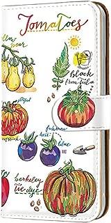 HUAWEI P20 Pro (HW-01K) PU手帳型 カードタイプ [オーガニック・トマト Tomato] イラスト ピートゥエンティプロ スマホケース 携帯カバー [FFANY] garden-149@01c