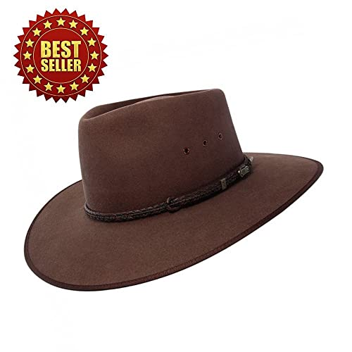 5755c82bdde46 Akubra Cattleman Hat - Fawn TOP SELLER