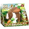 Fifi The Bunny Electronic Soft Pet Rabbit Toy Playset - Brown