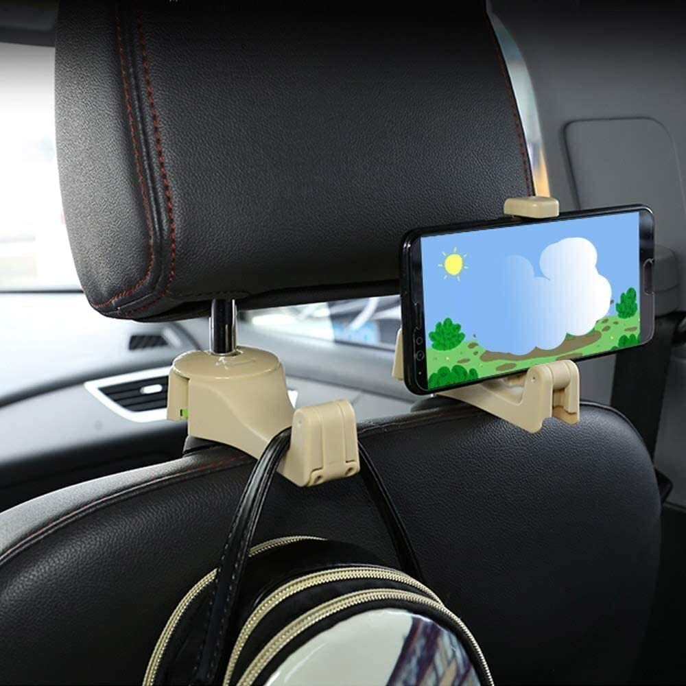 Onlogo Store Apply to High order Car Headrest Hook Cell Hang Phone Hooks Seat