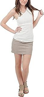 Robbi & Nikki Linen Mini Skirt Khaki (0)
