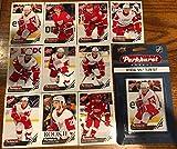 Detroit Red Wings 2018-19 Upper Deck PARKHURST NHL Hockey factory sealed 10 card licensed team set including Henrik Zetterberg, Frans Nielsen, Justin Abdelka... rookie card picture