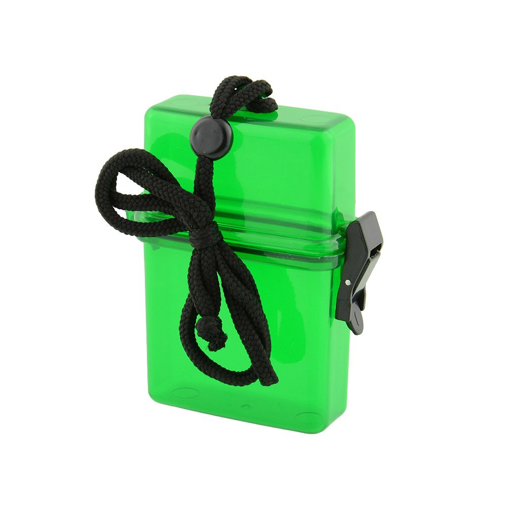 Swim Waterproof Plastic Container Storage Case Key Money Cellphone Box Holder