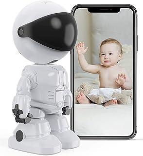Eccomum Vigilabebés Inalambrico Bebé Monitor Inteligente,