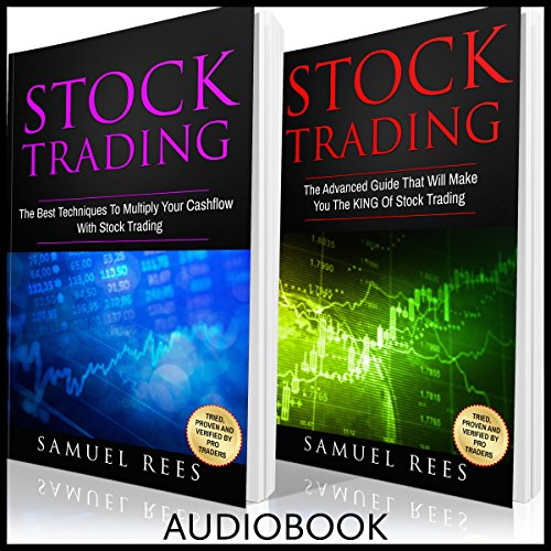 Stock Trading, 2 Books in 1 audiobook cover art