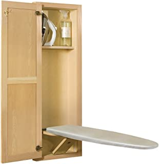 New Hide Away Sup400 Oak Built In Recessed Wooden Supreme Series Ironing Board