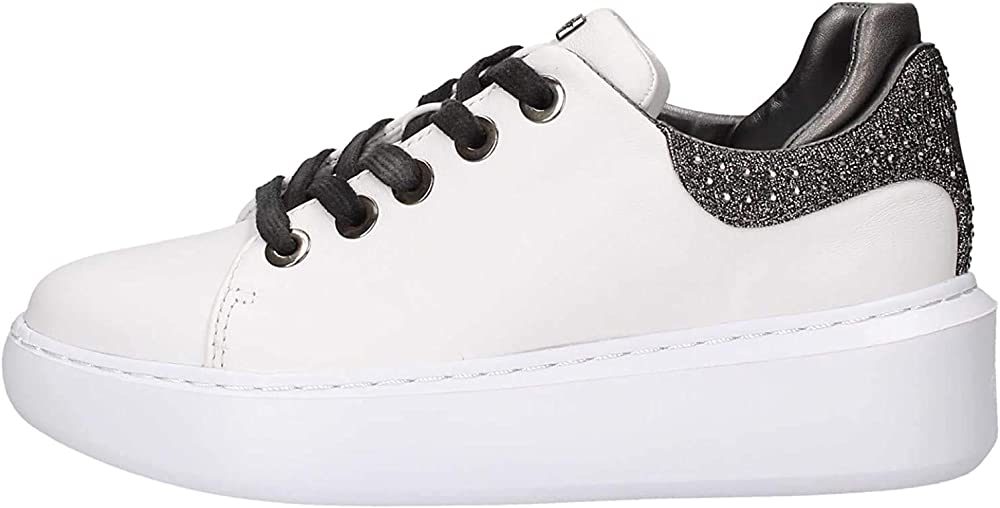 Guess sneakers donna in pelle guess-fl5yl2-lea12-white_0