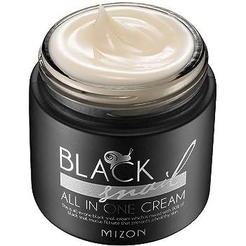 Mizon Black Snail All in One Cream, Elasticity Care and Anti-Wrinkle Facial Cream 75ml 2.53 fl. oz.