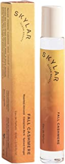 Fall Cashmere Perfume By Skylar - Travel-Sized Rollerball - Clean, Hypoallergenic, Safe for...