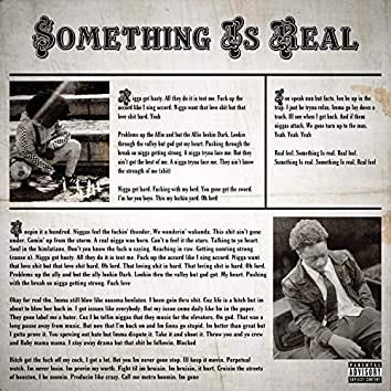 Something Is Real (feat. Ron Tas)