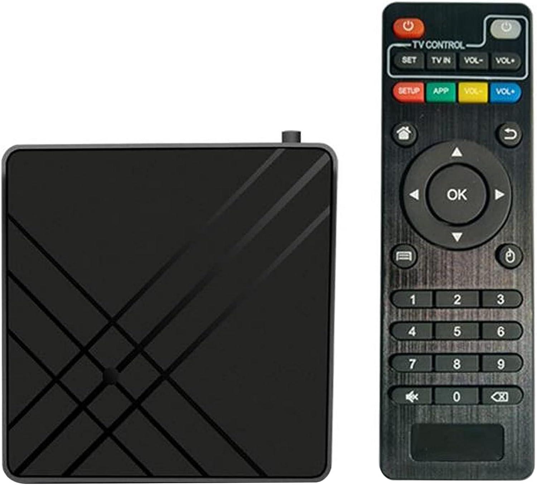 Etase for Android 9.0 TV Box 4GB 32GB ROM TV Set Top Box Amlogic S905 Mx+S QPro 4K Home Audio Video Part US Plug