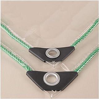YLJYJ Lona Lona Transparente PVC Plástico Grueso Impermeable Fácil de Plegar Cubierta de protección para el Piso del Patio del hogar, 22 tamaños (Color: Transparente, Tamaño: 1.8x4m)