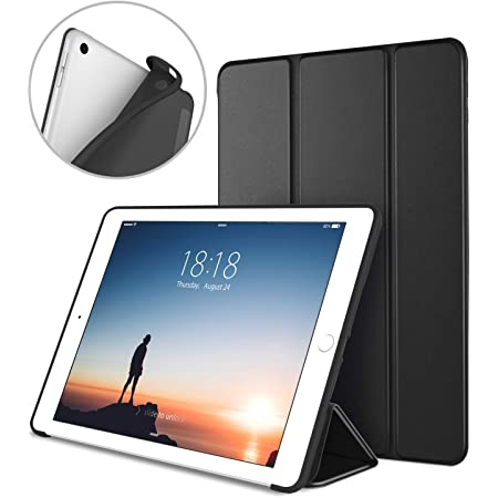 Rose Gold Ultra Slim Lightweight Stand Case with Translucent Frosted Back Smart Cover for Apple iPad 9.7 Inch 2017 iPad 5th Generation Case ProCase iPad 9.7 Case 2018 iPad 6th Generation Case