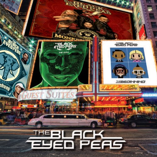 Elephunk / Monkey Business / The E.N.D. / The Beginning - Édition Deluxe Limitée (Coffret 4 CD + Poster + Badge)