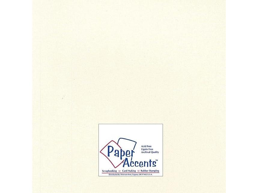 Accent Design Paper Accents Cdstk Glimmer 12x12 80# Irish Cream