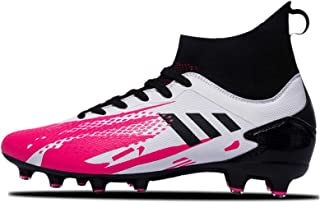 Cleats, Football Shoe, Women's Men's Football Boots,Outdoor/Indoor Long Spikes Football Profrssional Conditioning, Support...