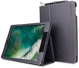 Snugg iPad Air 2 Case, Riverside Blue Leather Smart Case Cover Apple iPad Air 2 Protective Flip Stand Cover with Auto Wake/Sleep