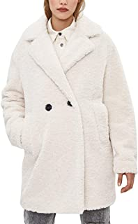 Piel Sintética Abrigos Mujer Invierno Aesthetic Vintage Forro Polar Chaqueta Ropa Cárdigan Oversize Talla Grande
